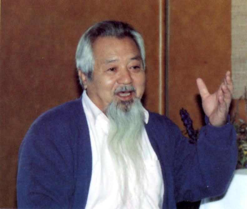 O Sensei Nakazono lecturing